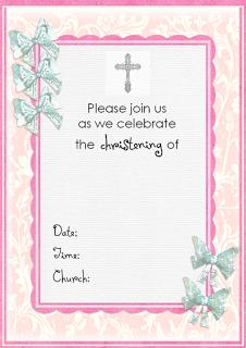 Free christening invitation cards freechristeninginvitationtemplate stopboris Images