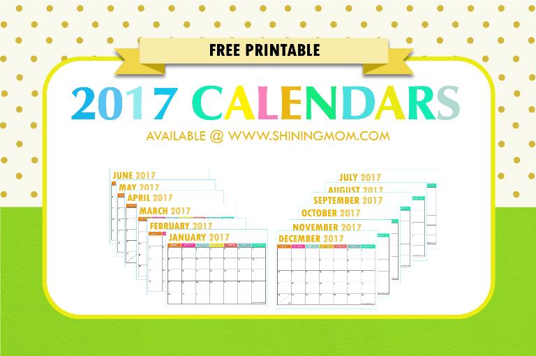 Pretty Free Printable Calendars 2016   Calendar Template 2016