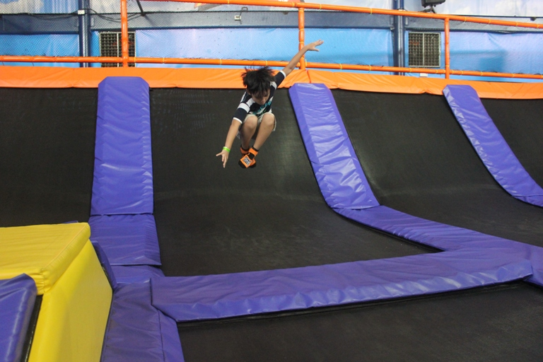 "Jump Yard is ""jump-packed"" with FUN!"