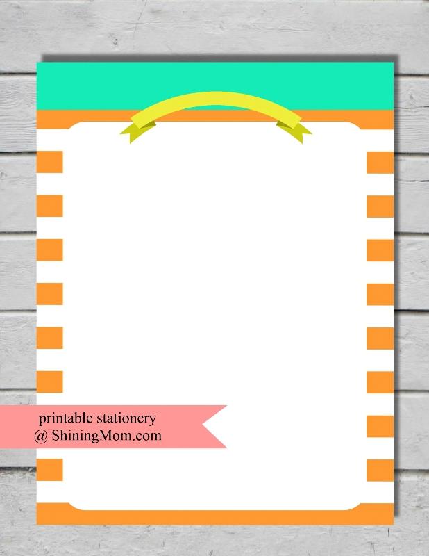stationery-printable