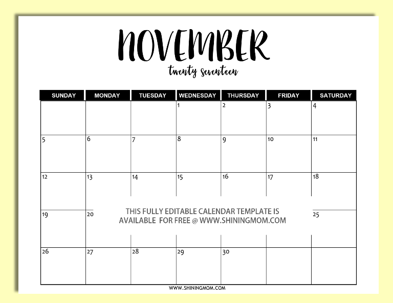2017-editable-november-calendar-template-in-word