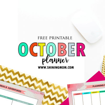 Happy Freebie Monday: Get Your Pretty Planner for October!