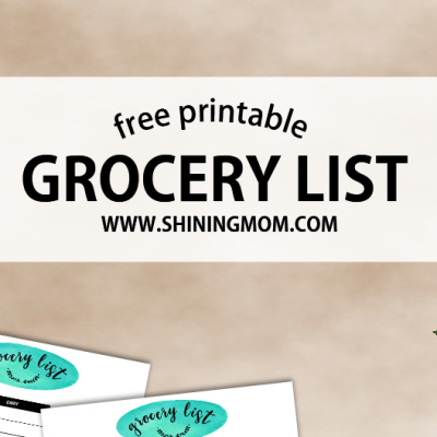 Budget Saver: Free Organized Grocery List!