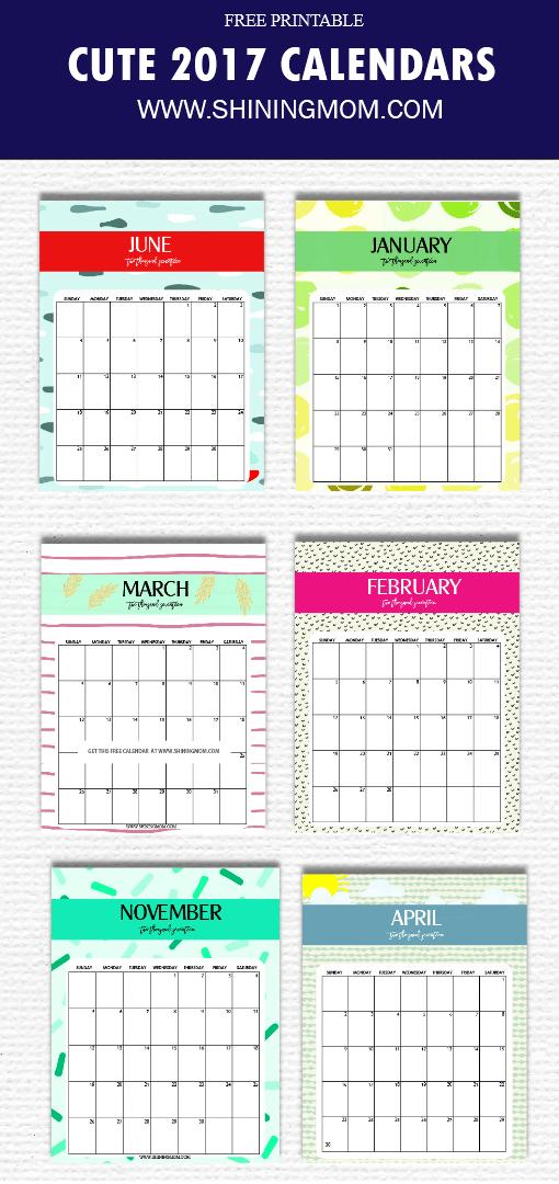 cute-2017-calendar-printable