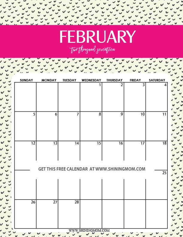 cute-february-2017-printable-calendar