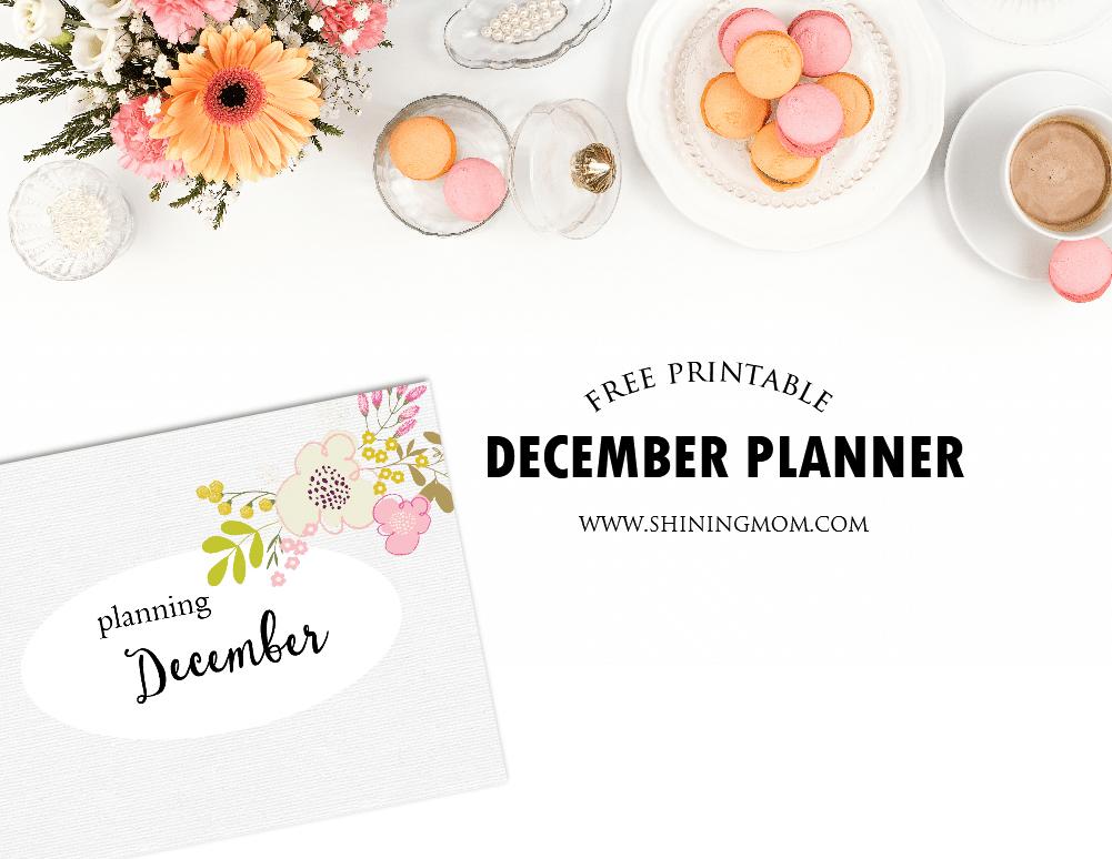 free-december-planner-printable