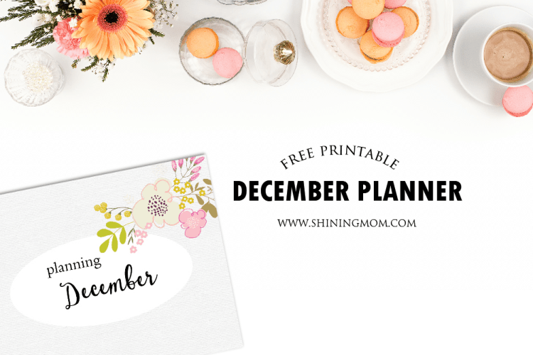 Plan a Joyful December! {Free Planner}