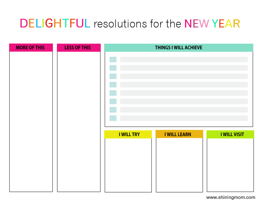 Best Here Is My Free Printable New Worksheets Years Resolution ...
