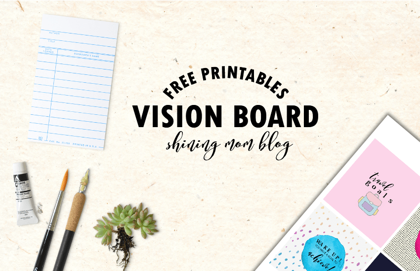 Vision board free printables as i told you the other day i am seriously rolling out a series of free printables to help ring in the new year i have previously shared calendars pronofoot35fo Gallery