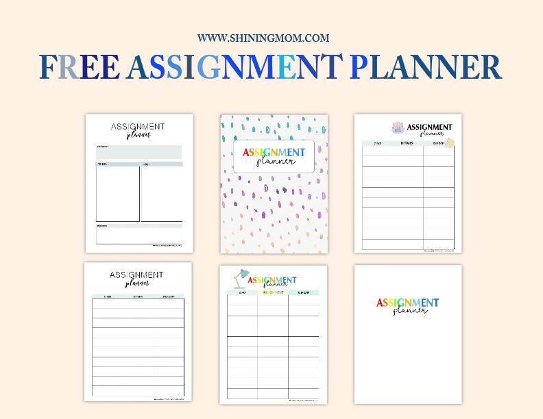 Coursework planner app