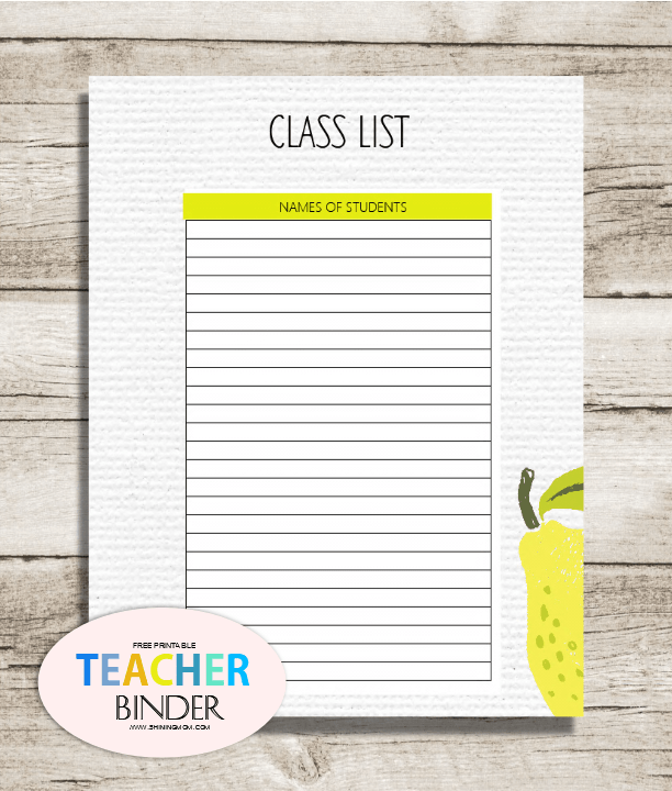 teacher diary template - free teacher binder printables over 25 pretty planning