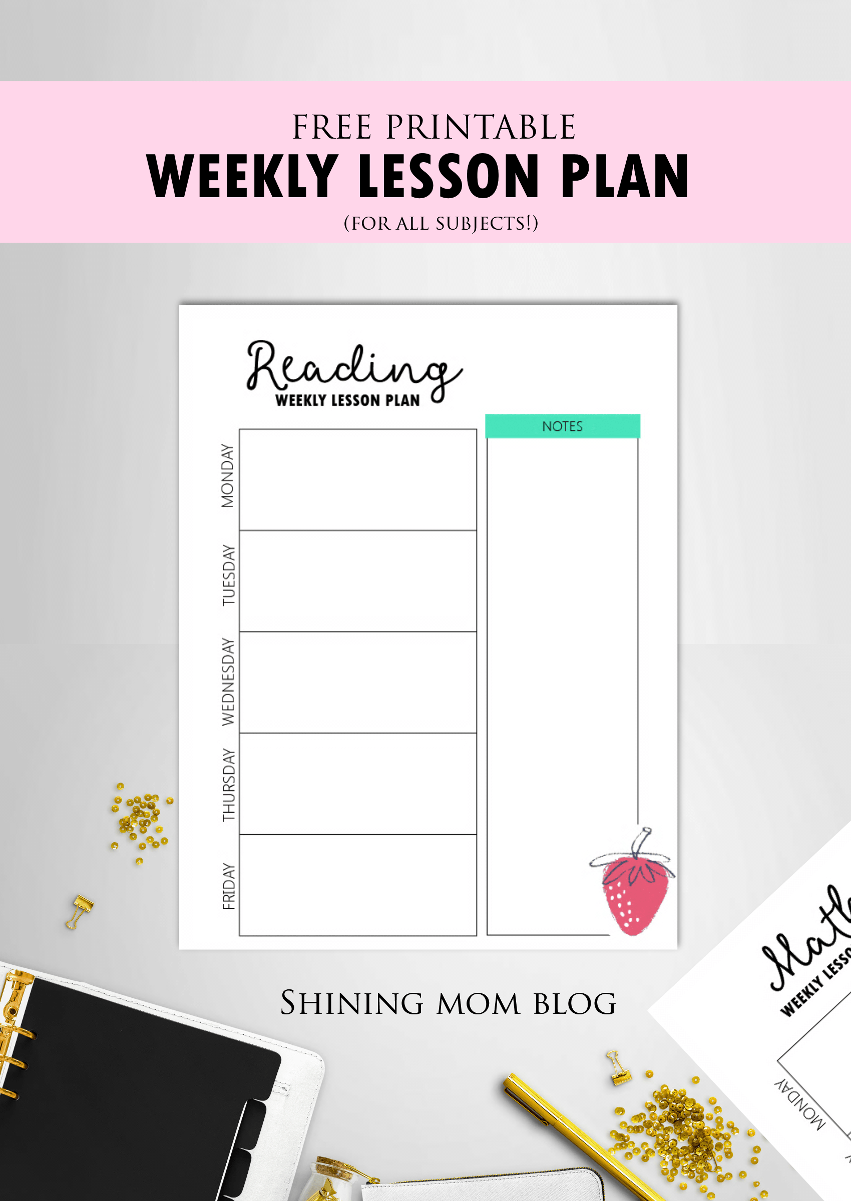 Free Teacher Binder Printables Over 25 Pretty Planning