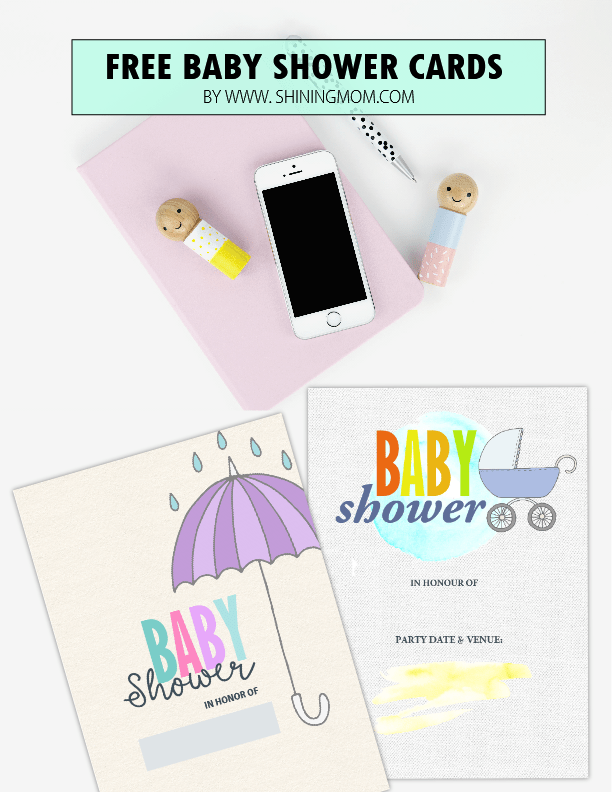 printable baby shower cards