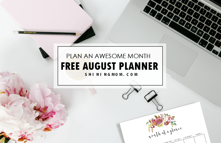 Plan a Beautiful August: Get Your Free Pretty Planner Now!