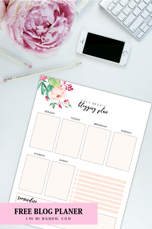 2018 monthly planner printable
