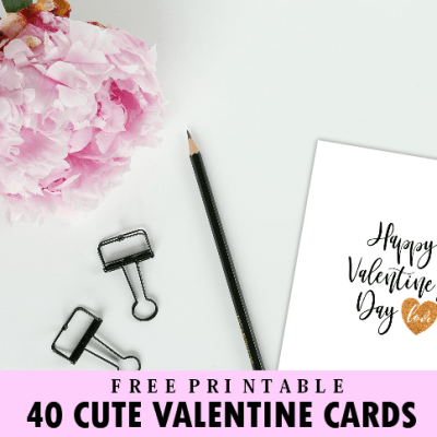 FREE Valentine Cards: 40+ Cute Designs to Love!