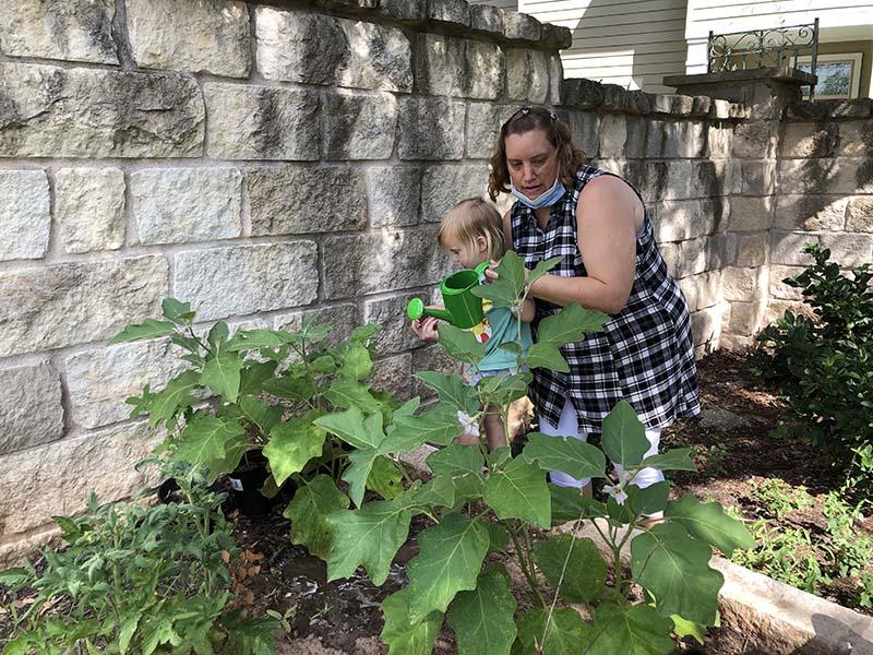 Shining Stars Montessori School Watering Activities