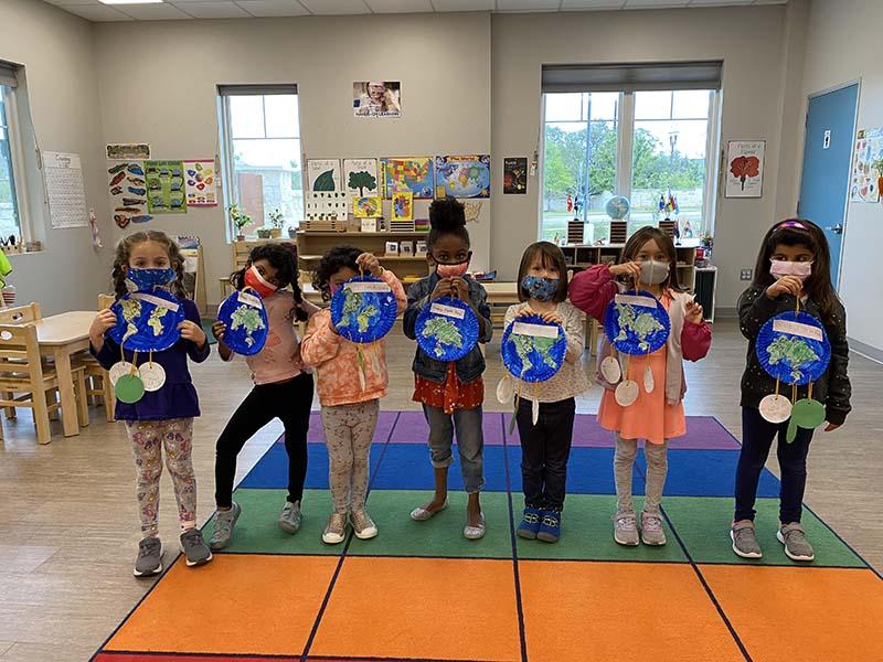 Shining Stars Montessori School Earth Day Projects