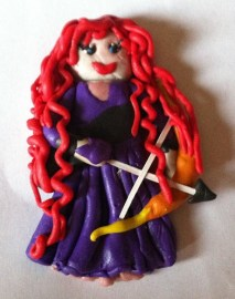 Purple Merida
