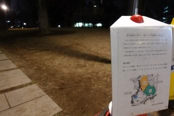 新宿中央公園 芝生広場