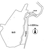 土地3,583万円 関市 倉知