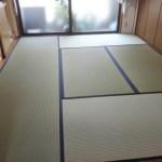 西区西本町にお住まいのお客様宅の畳の表替え〜in高知県産・土佐表