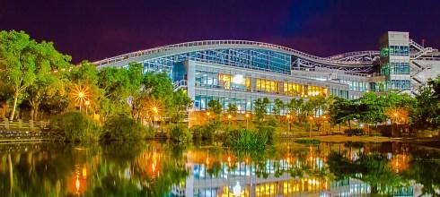 【熱門攝影景點02】新莊綜合運動中心拍夜景地點-北部拍照旅遊風景攝影指南