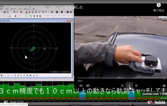 【L-RTK】3cm精度で動画撮ってみた<基準局文京区でも3cm精度出た!!>
