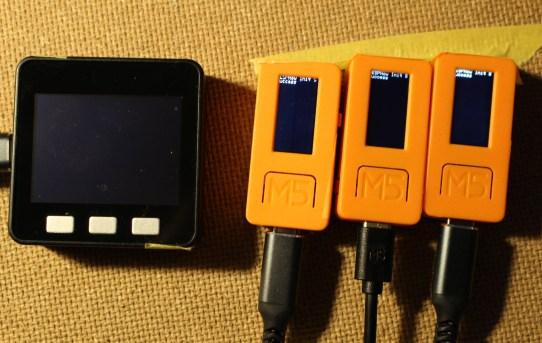 【PowerMeter2020】ESP-NOWでM5Stack1台-M5StickC3台接続実験<LangShip様に感謝>