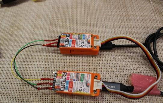 【M5】M5Stick2個間でSerial1-Serial2通信実験<全シリアル網羅>