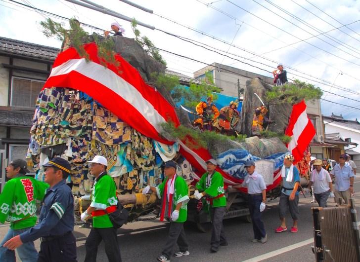 穂高神社・御船祭