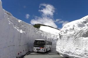 乗鞍エコーライン(乗鞍岳春山バス)