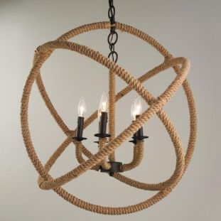 large-rope-sphere-chandelier
