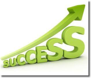 努力を続けることが成功につながる