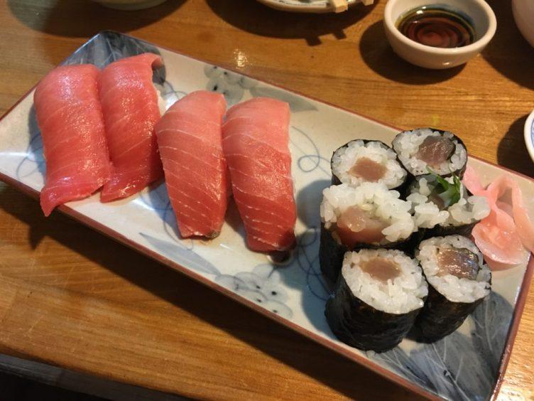 まぐろ寿司セット