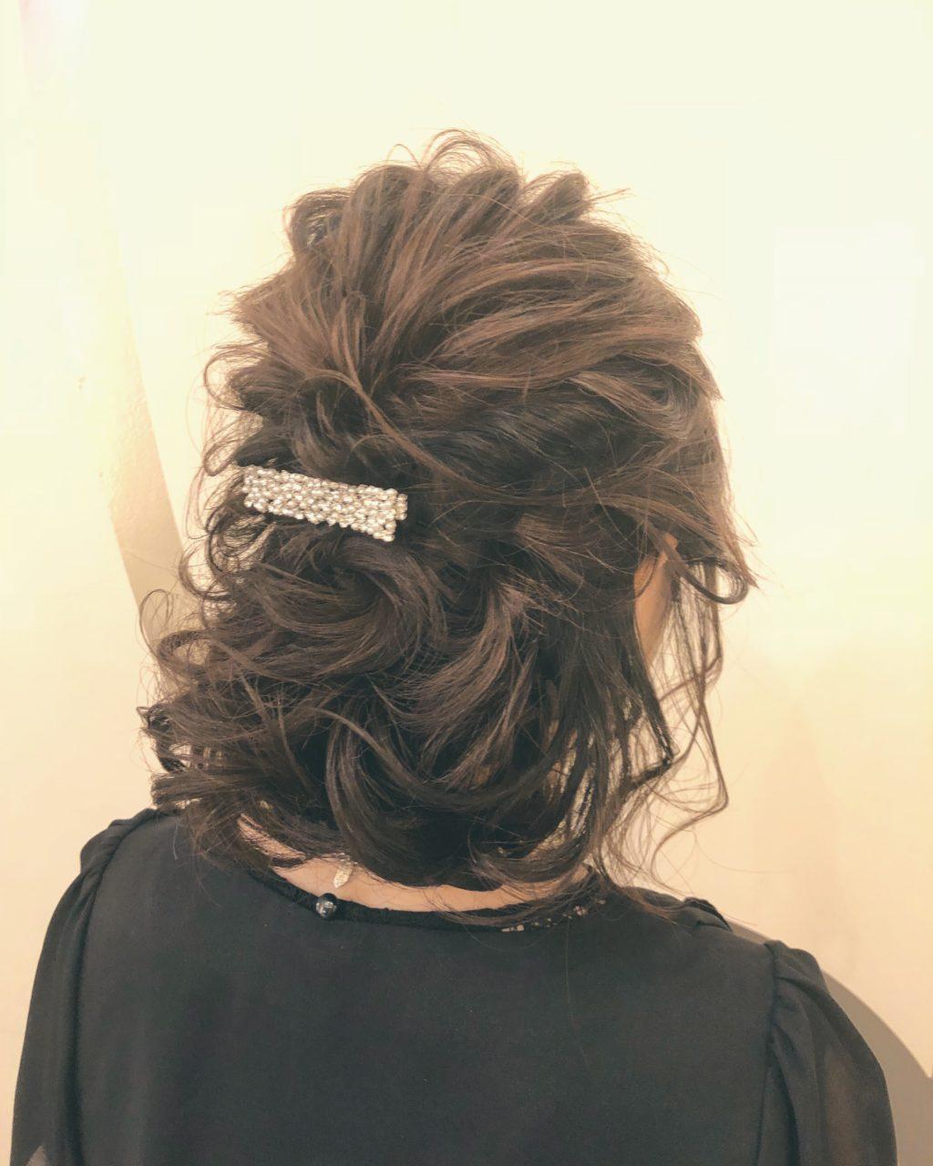 アップ ボブ ハーフ 結婚式の髪型!ボブでもハーフアップはできる?簡単アレンジ10選