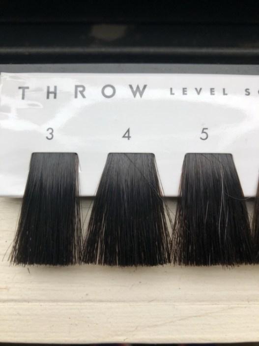 3〜5トーンのヘアカラーのレベルスケール