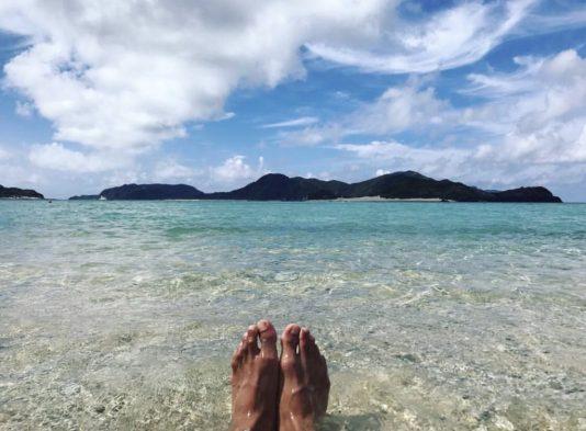 沖縄 慶良間諸島 座間味島 阿真ビーチ