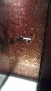 THE gun that did it.