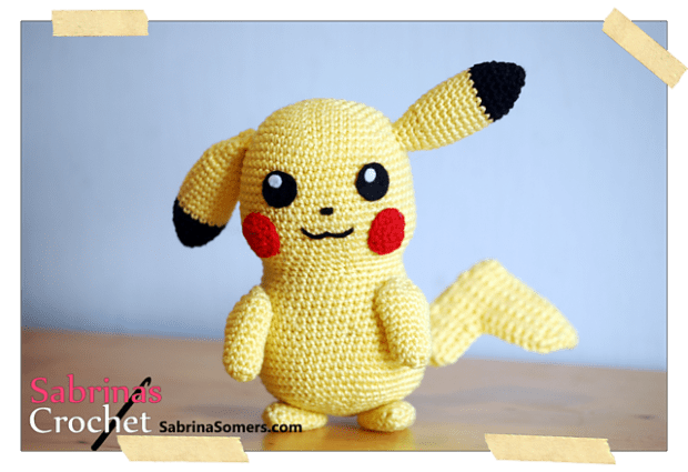 Pikachu (pokemon) by Sabrina Somers