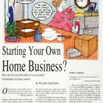 BackHome Magazine, Starting Your Own Home Business, Jan-Feb 2011 p1