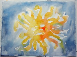 Sunface First Painting MSatterfield