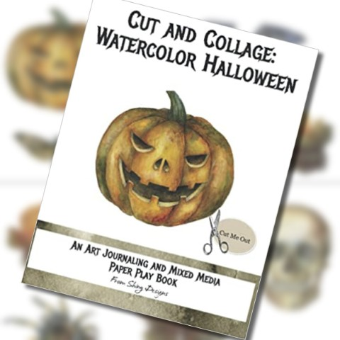 Did Someone Say Halloween? New Cut and Collage Book Released!