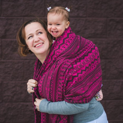 shiny_star_designs_space_invaders_ursa_woven_wrap_babywearing_budget_low_cost_green_geometric_jacquard_geeky_gamer_nerdy_back_carry_america_pink_black_2