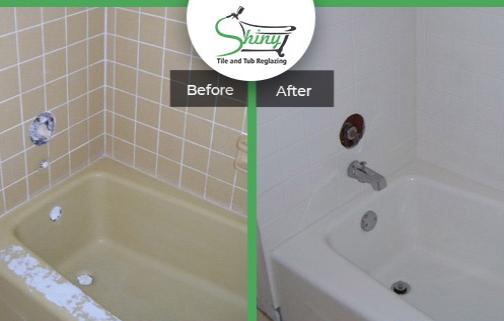 shiny tub reglazing houston