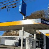 麻生警察署近くのガソリンスタンドは「ニコニコステーション新百合ヶ丘」としてレンタカー併設