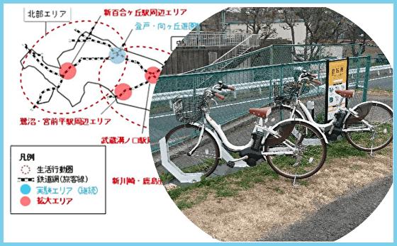 川崎市シェアサイクル実証実験
