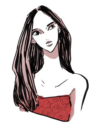 girl(personal illustration)