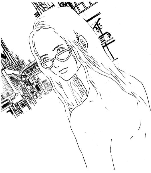 SHINJUKU(personal illustration)