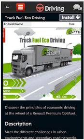 Driving Games App